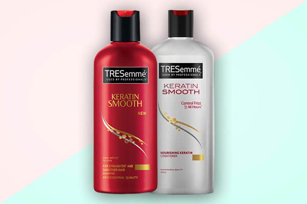 tresemme smooth and shine shampoo and conditioner