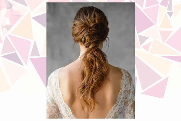 twisted ponytail hairstyle