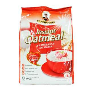 Captain Oats Instant Oatmeal 800G | FairPrice