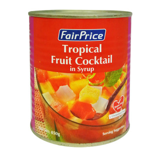 Image for FairPrice Tropical Fruit Cocktail In Syrup 850G from ...