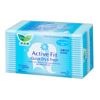 Laurier Active Fit Pantyliner - Non-Scented 40S