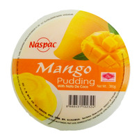 Naspac Pudding With Nata De Coco - Mango 380G