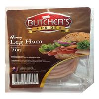 Butcher's Pride Honey Leg Ham 70G