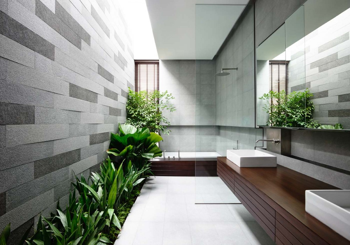 Home ideas the natural palette in design property news for Landscape architects bath