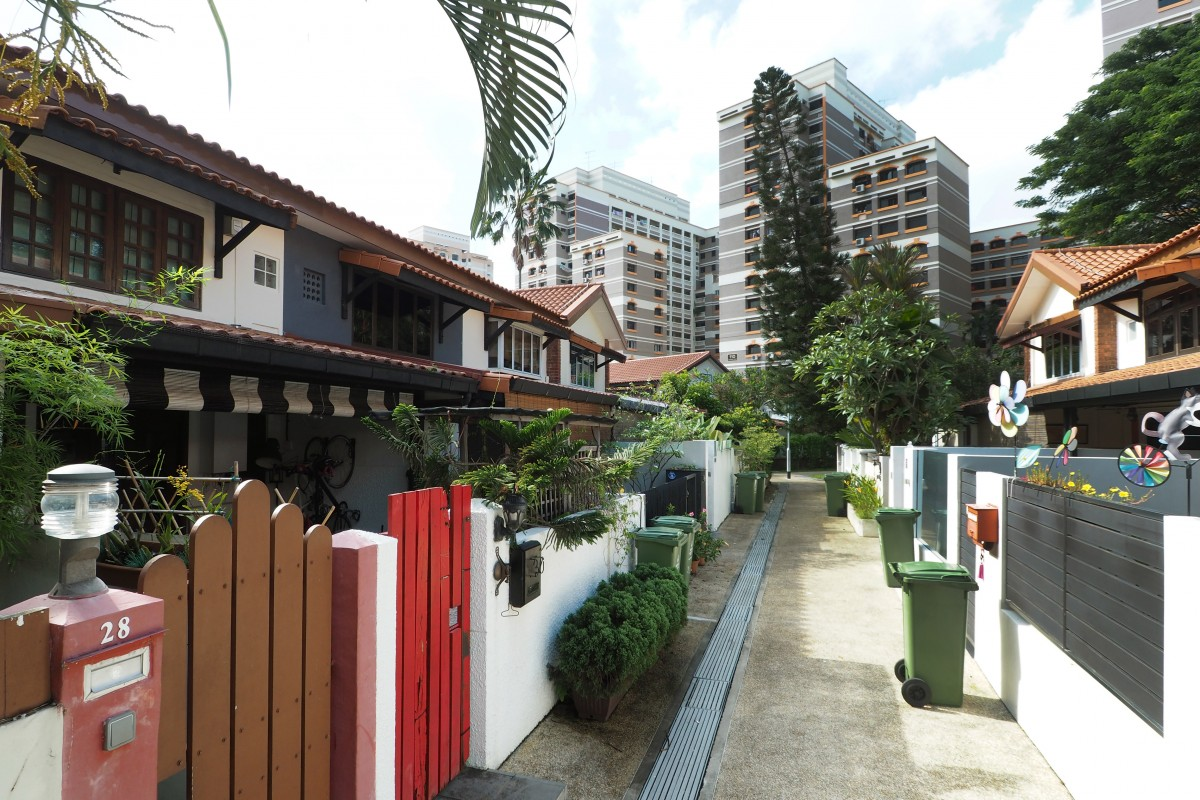 Landed homes below 2 million for Terrace house singapore