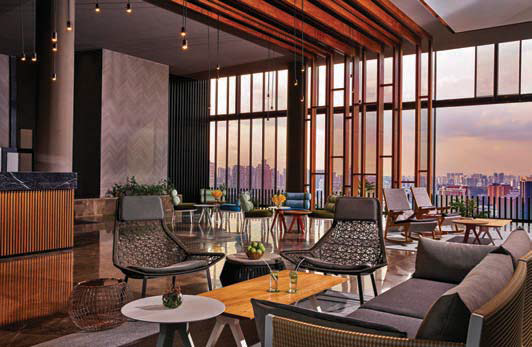 The sky pavilion on the club floor - EDGEPROP SINGAPORE