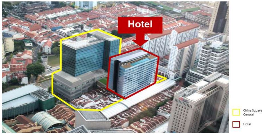 FCL to develop 16-storey hotel at China Square Central - EDGEPROP SINGAPORE
