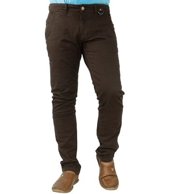 Picture of Men's Gabardine Stretch Pant coffee AKC 01