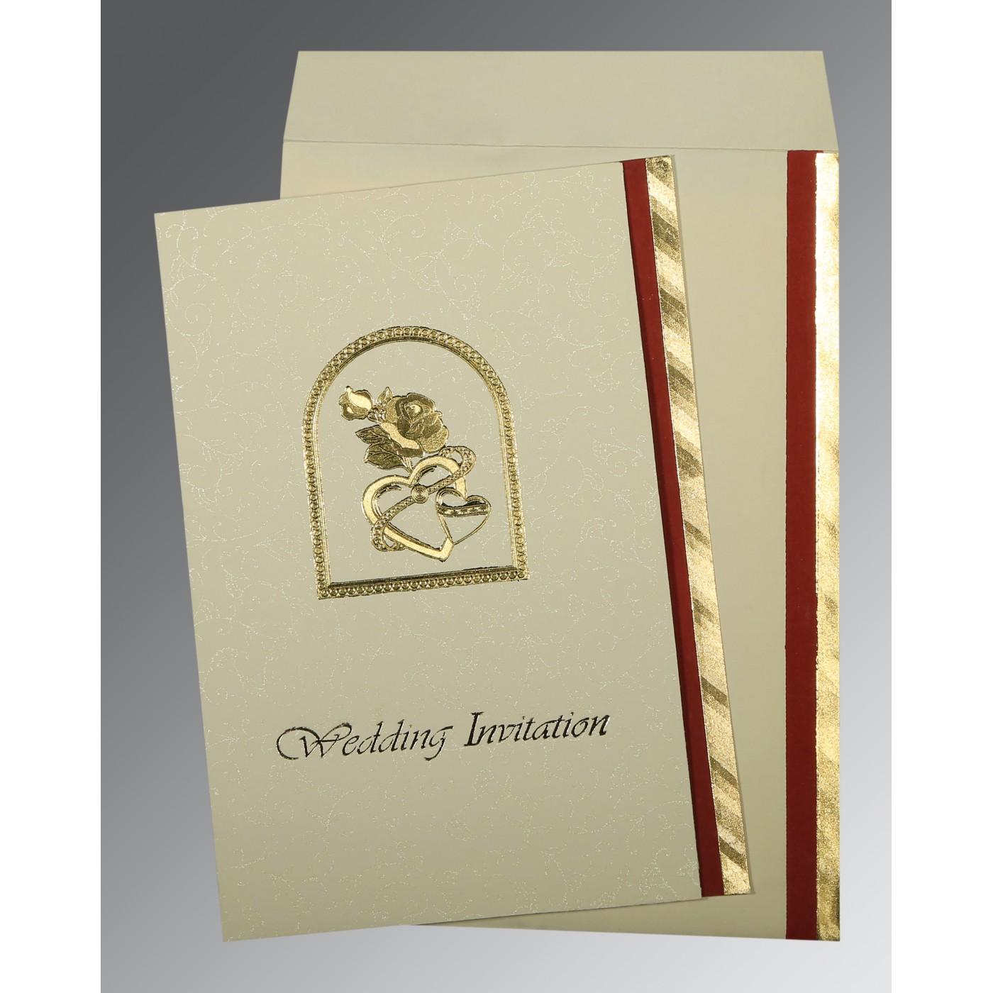 BLUE GLOSSY WEDDING CARD : C-0016 - 123WeddingCards