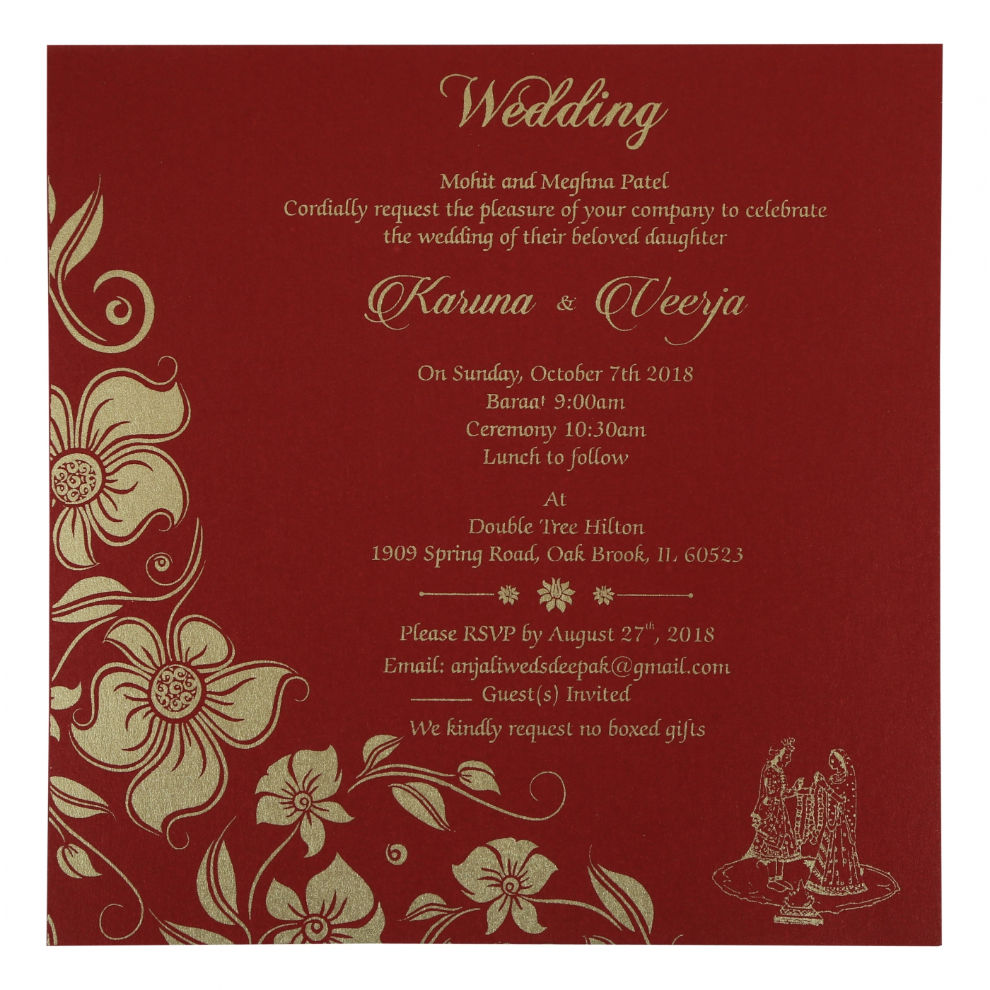 Dorable Falling In Love Wedding Invitations Ensign - Invitations and ...