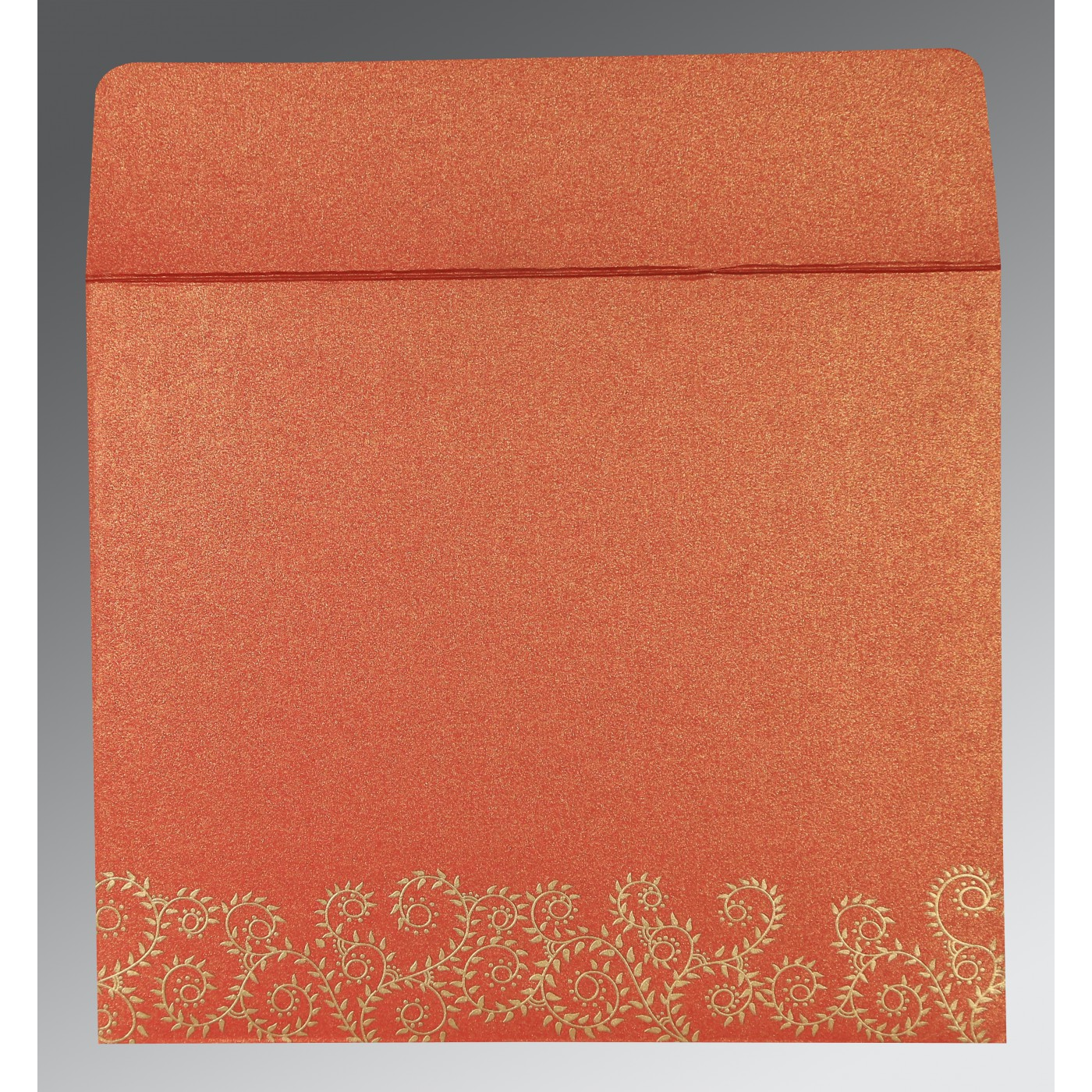 RED SHIMMERY SCREEN PRINTED WEDDING INVITATION : IN-8217A ...