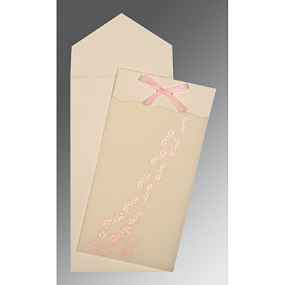WHITE SCREEN PRINTED WEDDING INVITATION : P-0040 - 123WeddingCards