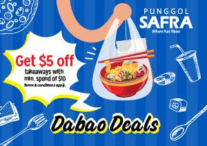 Dabao Deals @ SAFRA Punggol