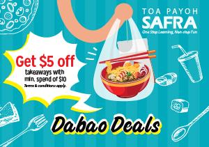 Dabao Deals @ SAFRA Toa Payoh