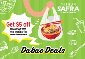 Dabao Deals @ SAFRA Yishun