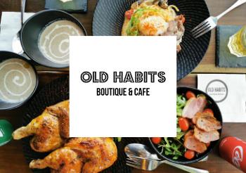 SAFRA Mount Faber Old Habits Boutique & Cafe - 35% Off Takeaway & 25% Off Delivery Orders