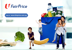 NTUC FairPrice - Up to $12 Off Online Grocery Purchases