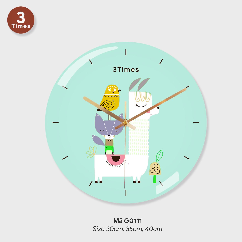 Dong ho treo tuong gia re, tranh treo tường có đồng hồ mã G0110