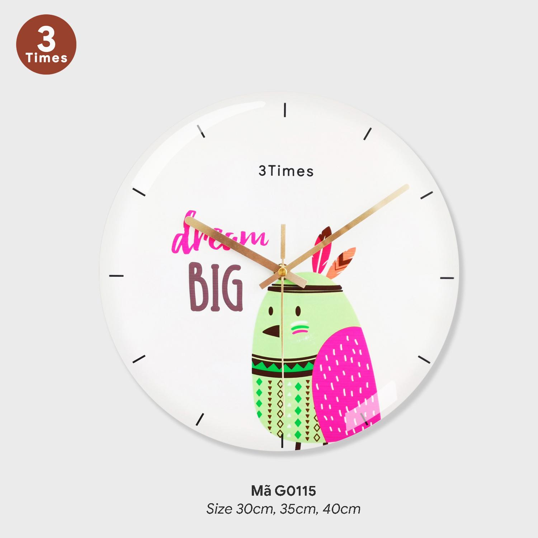 Đồng hồ treo tường loại tốt, đồng hồ treo tường sang trọng mã G0115