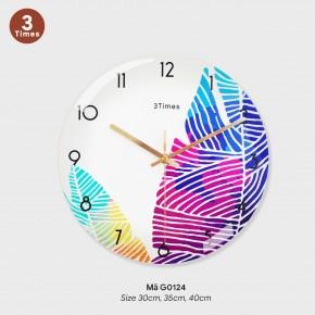 Đồng hồ treo tường phòng khách, đồng hồ độc lạ treo tường mã G0124