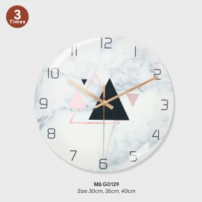 Đồng hồ treo tường phòng khách, đồng hồ treo tường chính hãng mã G0129