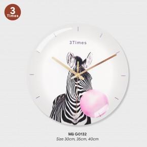 Đồng hồ treo tường phòng khách đẹp, đồng hồ treo tường sáng tạo mã G0132