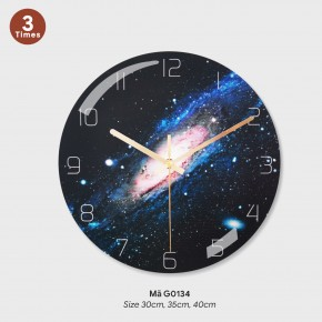Tranh đồng hồ treo tường, đồng hồ treo tường độc mã G0134