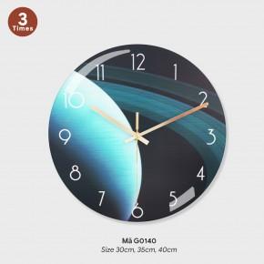 Đồng hồ treo tường độc và lạ, đồng hồ trang trí nội thất mã G0140