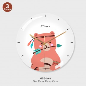 Đồng hồ trang trí nội thất, mau dong ho treo tuong mã G0144