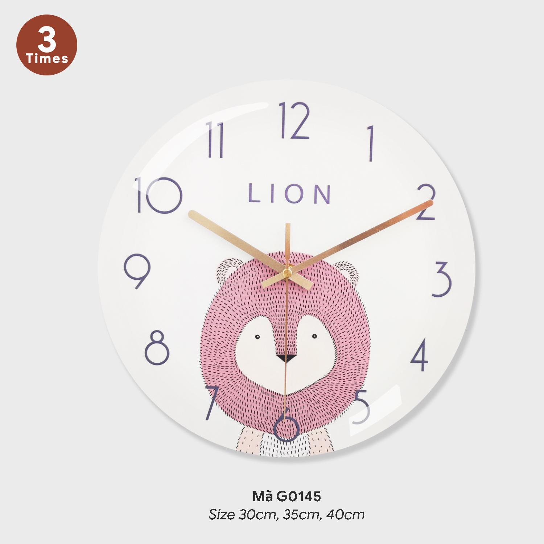 Đồng hồ treo tường độc, đồng hồ tranh treo tường mã G0145