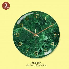 Đồng hồ treo phòng ngủ, đồng hồ đẹp treo tường mã G0147