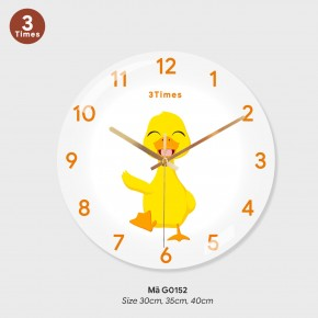 Đồng hồ treo tường phòng khách đẹp, đồng hồ trang trí đẹp mã G0152