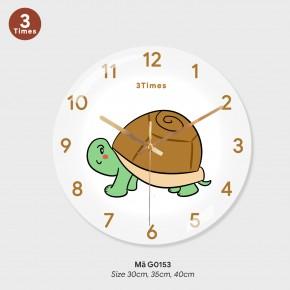 Đồng hồ trang trí nội thất, mẫu đồng hồ treo tường độc đáo mã G0153