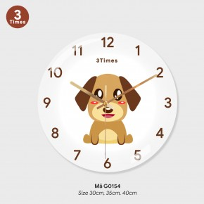 Hình ảnh đồng hồ treo tường, đồng hồ treo tường sang trọng mã G0154