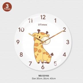 Đồng hồ treo tường độc đáo, đồng hồ treo phòng khách đẹp mã G0155