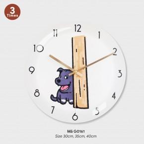 Đồng hồ treo tường độc đáo, đồng hồ treo phòng ngủ mã G0161
