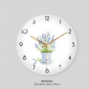 Tranh dong ho treo tuong, đồng hồ trang trí mã G0166