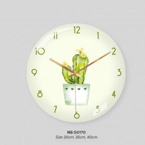 Đồng hồ độc lạ treo tường, đồng hồ phòng khách mã G0170