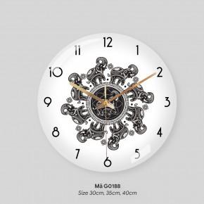 Đồng hồ tranh treo tường, các kiểu đồng hồ treo tường đẹp mã G0188