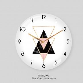 Tranh đồng hồ treo tường, đồng hồ treo tường độc mã G0190