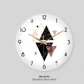 Đồng hồ treo tường tranh, đồng hồ treo tường chính hãng mã G0192