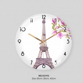 Đồng hồ tranh treo tường, mẫu đồng hồ treo tường sang trọng mã G0193