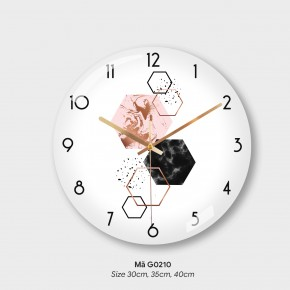 Đồng hồ treo tường độc lạ, đồng hồ phòng khách mã G0210