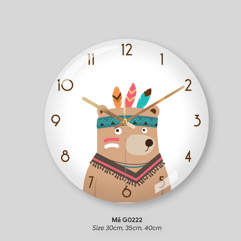 Thế giới đồng hồ treo tường, đồng hồ trang trí phòng khách mã G0222