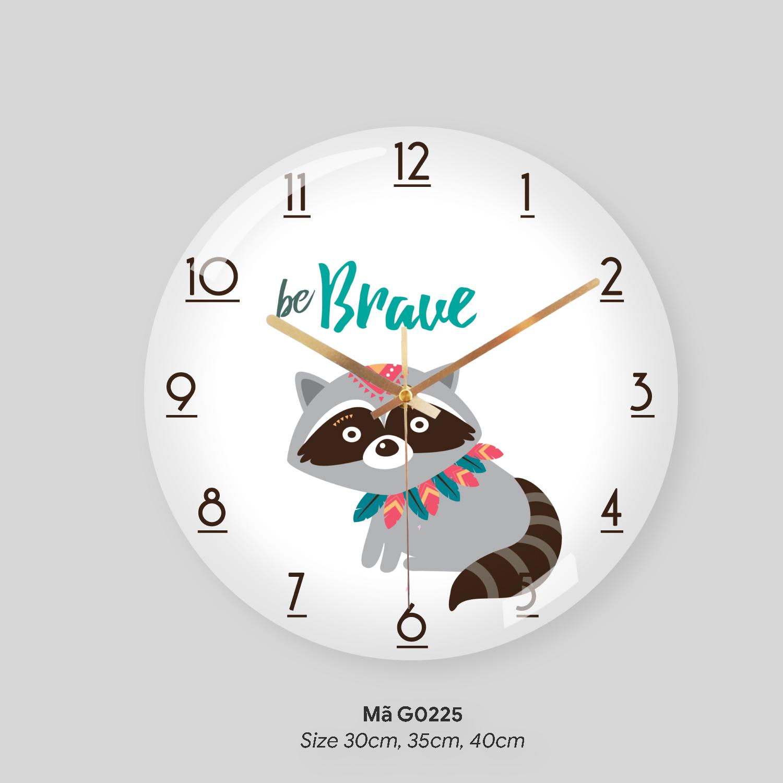 Đồng hồ treo tường nghệ thuật, đồng hồ treo tường phòng khách đẹp mã G0225