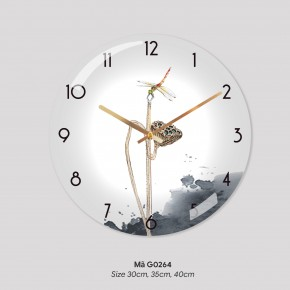 Đồng hồ tranh treo tường, đồng hồ treo tường đẹp giá rẻ mã G0264