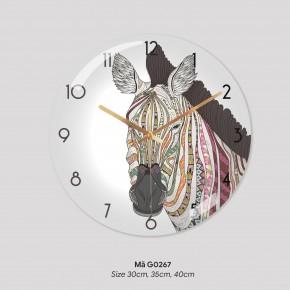 Đồng hồ treo tường sang trọng, tranh treo tường có đồng hồ mã G0268