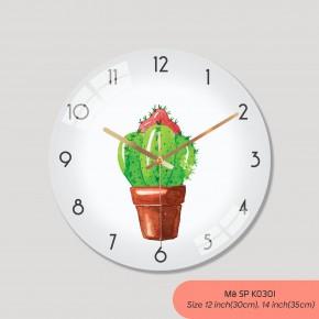 Tranh đồng hồ treo tường, đồng hồ treo tường phòng khách đẹp mã K0301