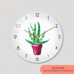 Hình ảnh đồng hồ treo tường đẹp, đồng hồ trang trí phòng khách mã K0305