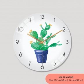 Các mẫu đồng hồ treo tường, đồng hồ trang trí phòng khách mã K0308